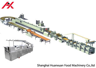 Chine Machine complètement automatique de biscuit, structure compacte de machine de fabrication de biscuits de boulangerie fournisseur